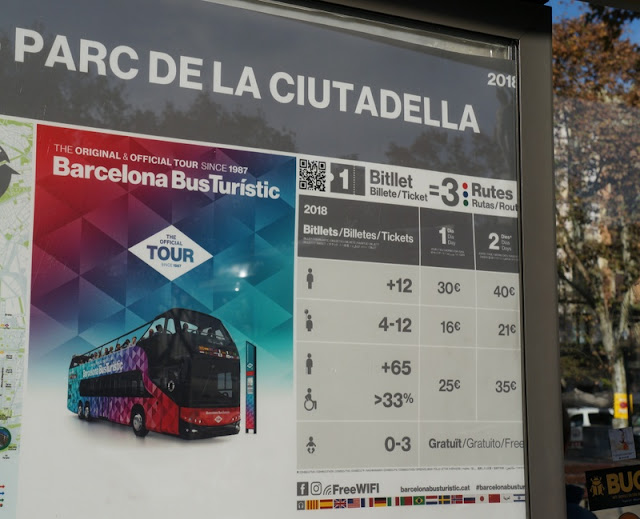 ônibus turísticos CitySightseeing em Barcelona