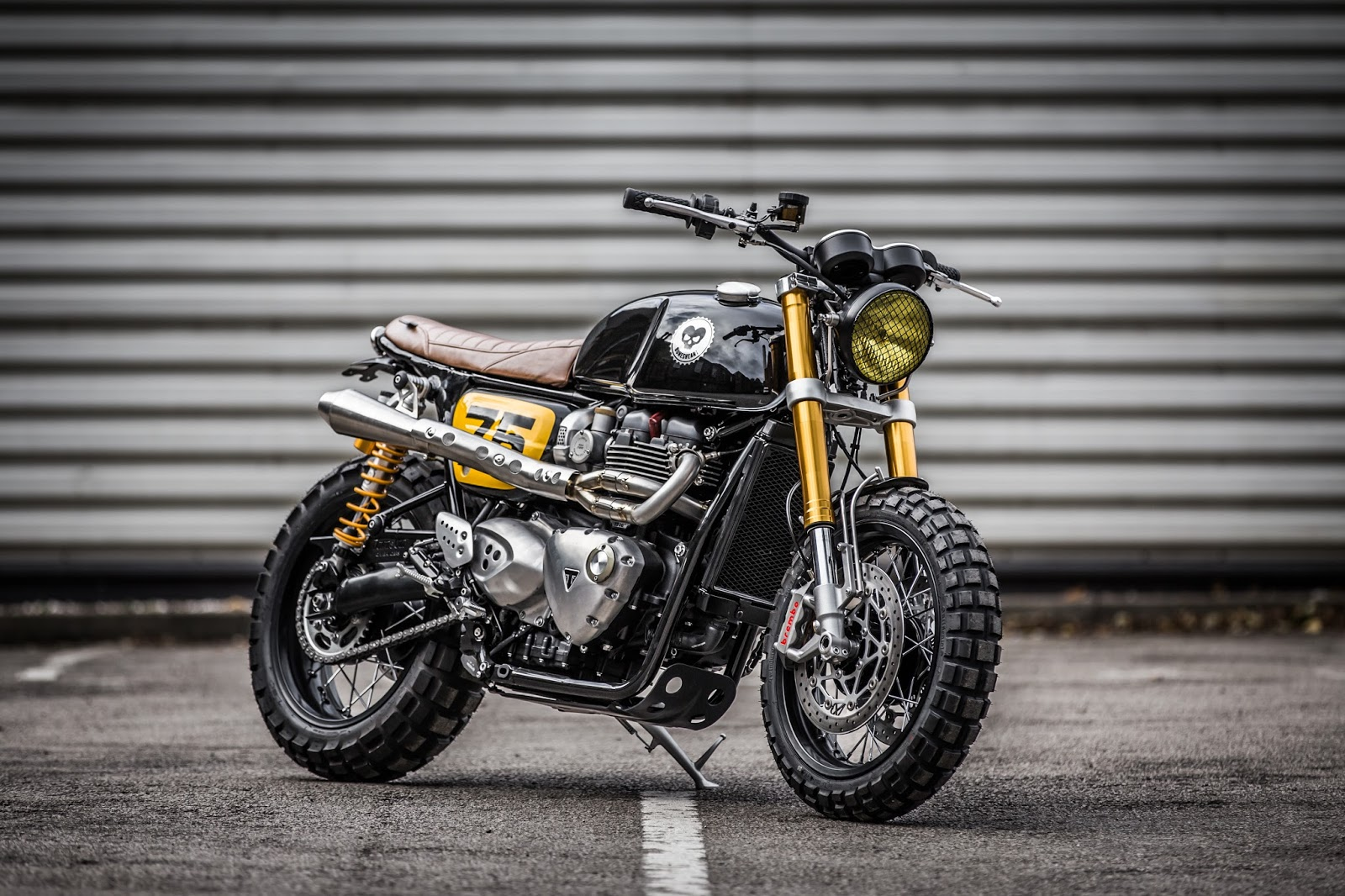Triumph Thruxton R By Down Out Cafe Racers