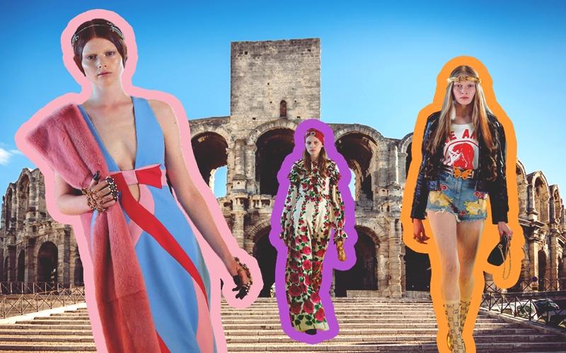 Gucci Cruise 2019 Defilesi Fransa'da