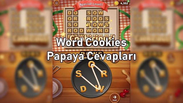 Word Cookies Papaya Cevapları