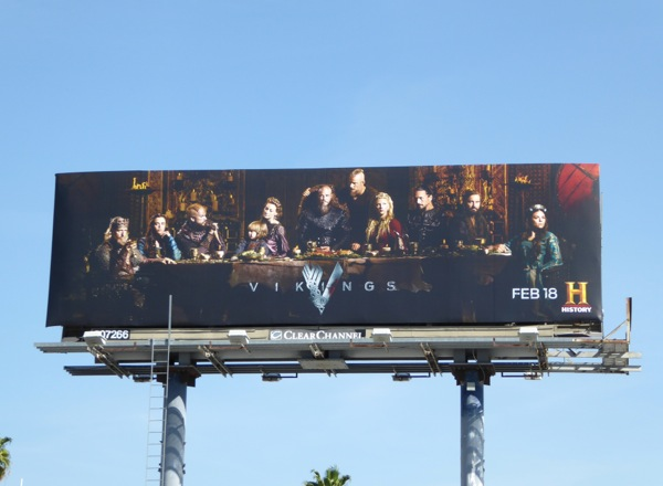 Vikings season 4 billboard