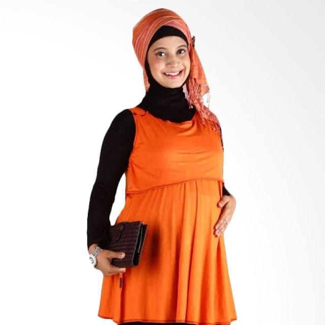 Hanaroo Maternity & Nursing Wear Button Sunkist Untuk kerja