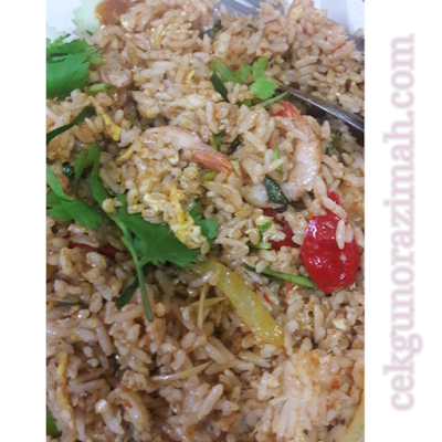 resepi nasi goreng tomyam, nasi goreng tomyam noxxa, cara buat nasi goreng menggunakan noxxa
