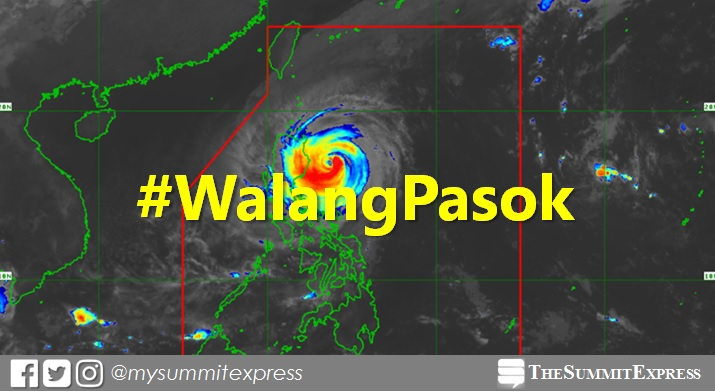 #WalangPasok: Class suspensions for Tuesday, October 30, 2018