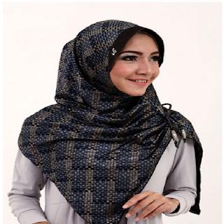 model jilbab pesta simpel