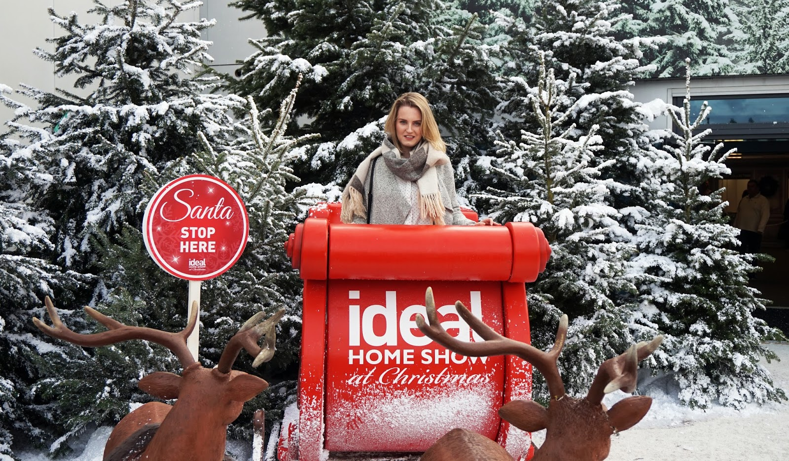 Ideal Home Show At Christmas 2016
