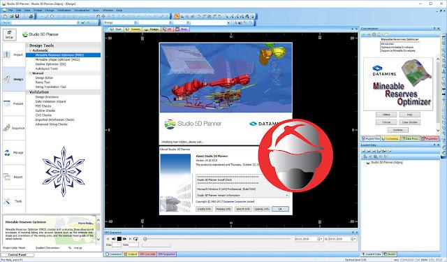 Datamine Studio 5D Planner. 14