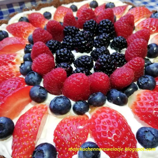 krem z owocami