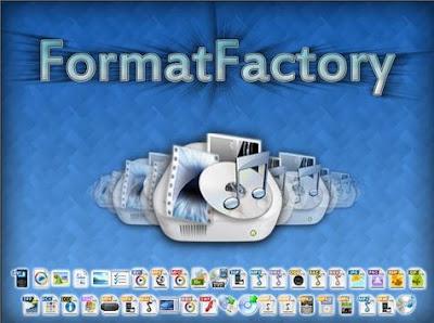برنامج فورمات فاكتوري Format Factory لتحويل الفيديو