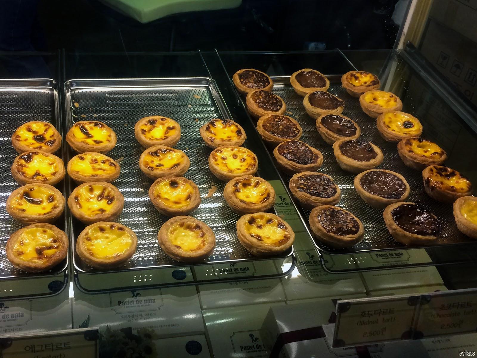 Seoul, Korea - Summer Study Abroad 2014 - Edae Pastel de nata Portuguese Egg Tarts