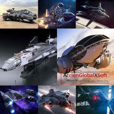 Fondos de pantalla naves espaciales HD