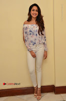 Actress Pragya Jaiswal Latest Pos in White Denim Jeans at Nakshatram Movie Teaser Launch  0030.JPG