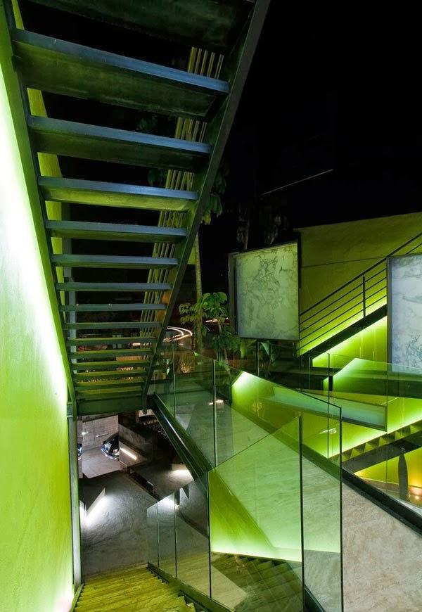 Desain Lampu Spektakuler Rumah Modern