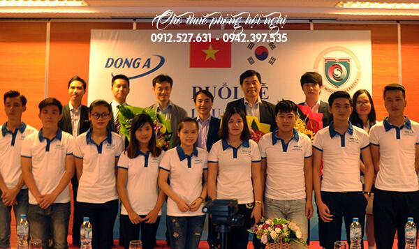 Chương trình diễn ra tại Phòng hội nghị Tầng 3 - tòa nhà 25T2 Nguyễn Thị Thập, Hà Nội