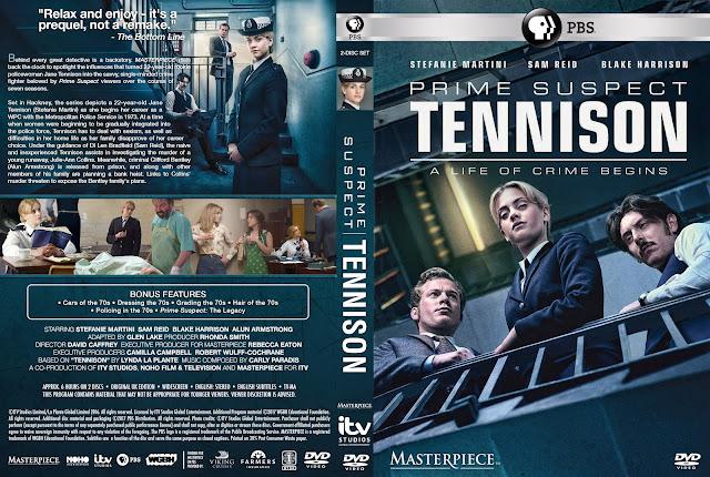 Prime Suspect 1973 Tennison DVD Cover