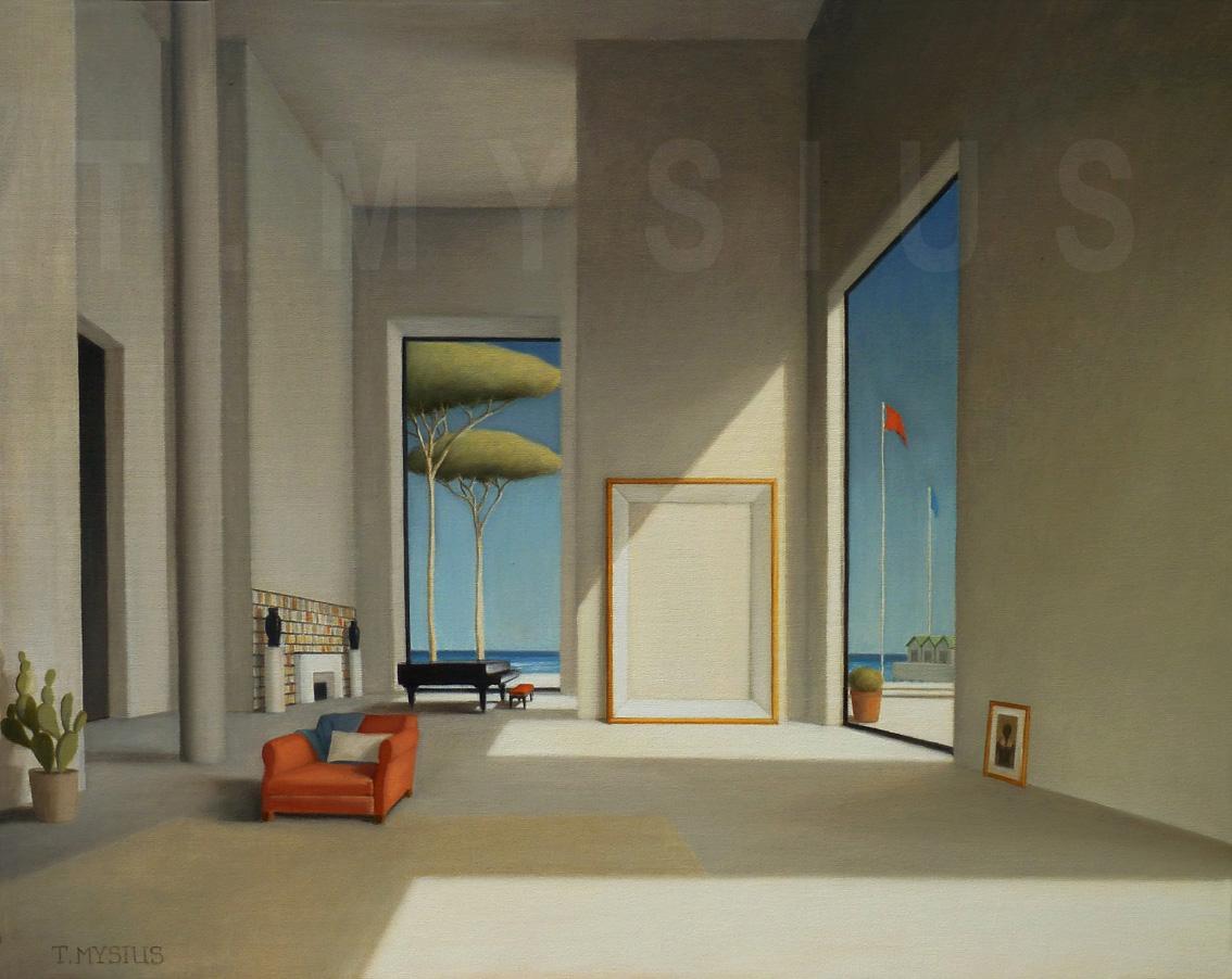 l 39 atelier thierry mysius quelques nouvelles toiles de thierry mysius expos es dans la galerie. Black Bedroom Furniture Sets. Home Design Ideas