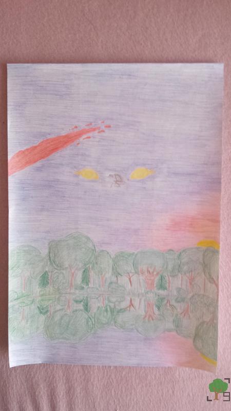 Kat, metal, muzyka, religia, wiara, człowiek, rysunek, interpretacja piosenki