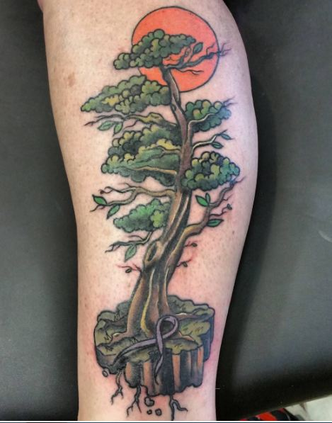 50 Simple Tree Tattoos For Men 2019 Ideas Designs With