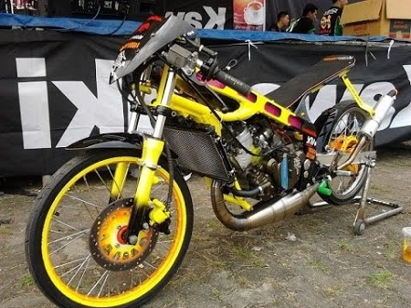 Modifikasi Drag Ninja R150