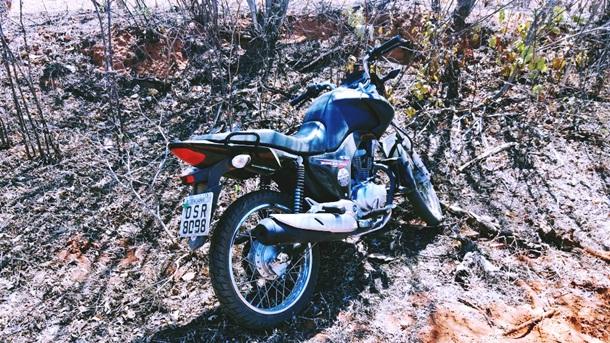 Milagres-CE: Ação conjunta da PM recupera moto roubada de casal no sábado (26)