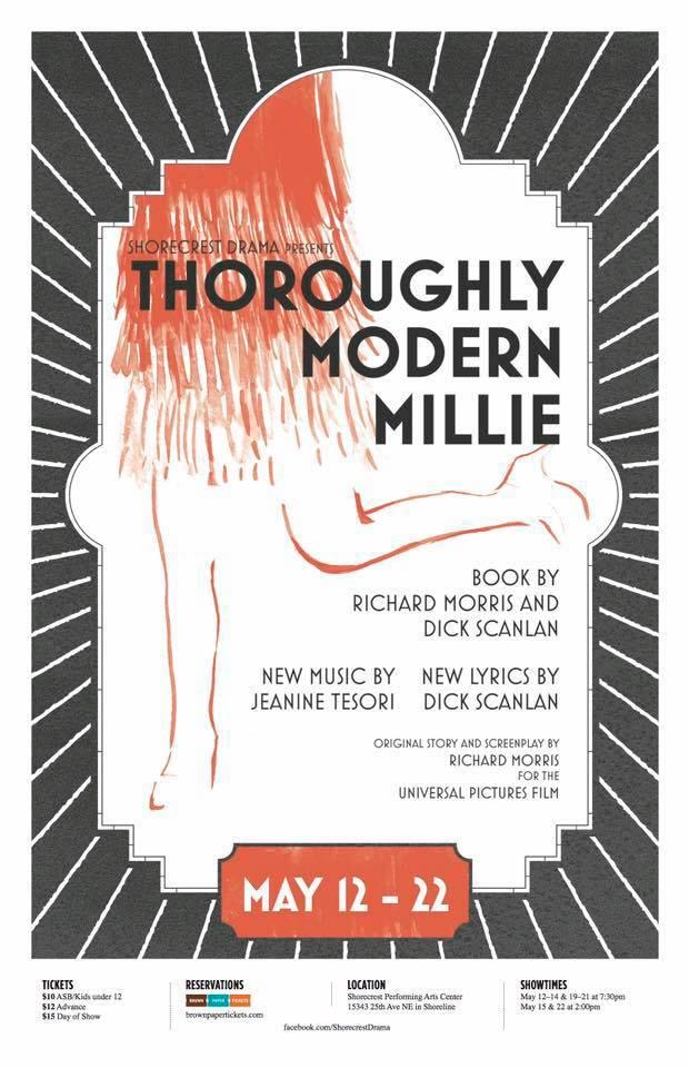 Shoreline Area News Review Thoroughly Modern Millie Cast Steps