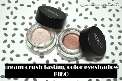 cream crush lasting color eyeshadow de kiko