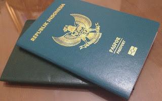 Cara membuat paspor.