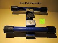 Standfuß: as - Schwabe Chip-LED-Akku-Strahler 10 W, geeignet für Außenbereich, Gewerbe, blau, 46971