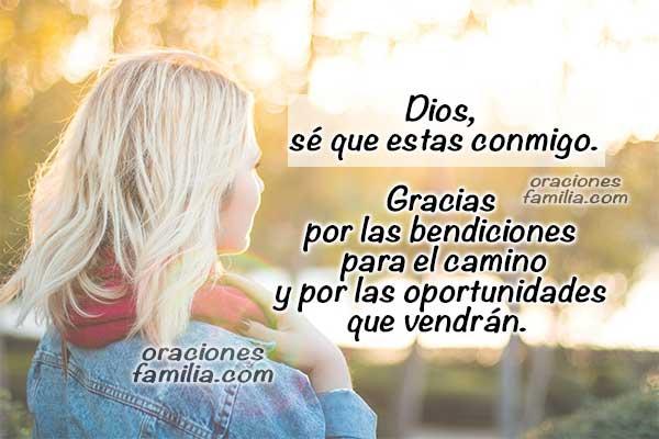 Oración para la mañana, frases cristianas con plegaria para orar y meditar en Dios, oraciones cortas por mi vida para este día por Mery