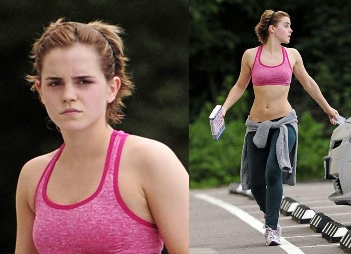 Emma Watson Hair Style: Heather Nicole's Corner: Gym Hair Dilemma?