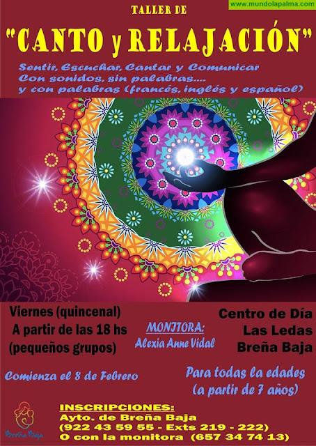 """Nuevo taller de """"CANTO y RELAJACIÓN"""""""