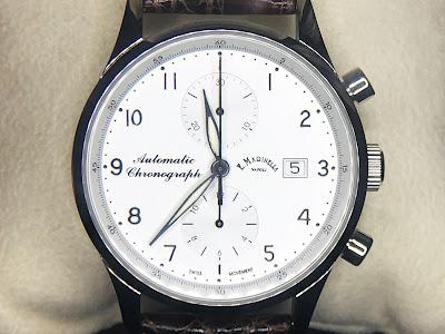 E.MARINELLA NAPORI PIAZZA VIATTORIA 7061.1 ファッション 時計 実用性 ビジネス シンプル 上品 エレガント クロノグラフ Valjoux7750 存在感 クロコダイル 自動巻き 男性 女性 プレゼント カレンダー