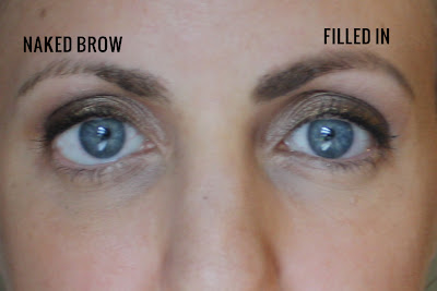 importance of filling in brows