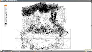 Modo lineas de ilustracion