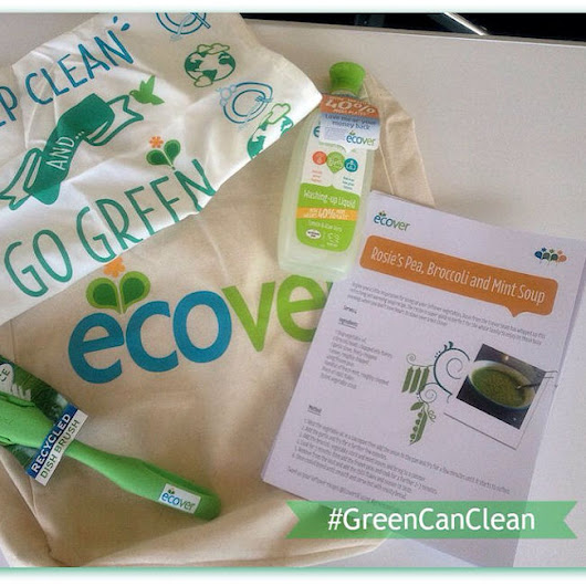 Can Green Clean? Review of Ecover's New and Improved Washing-up Liquid