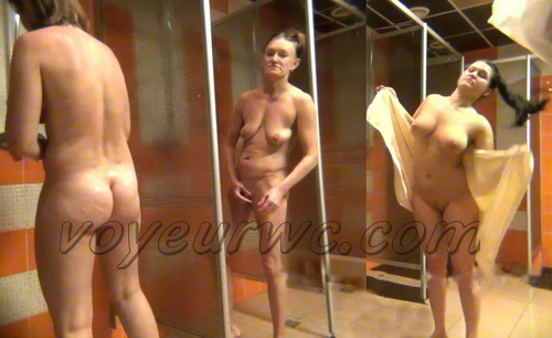 Shower Spy 229-238 (Hidden Camera in a Fitness Club Shower)
