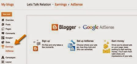 blogger login google account