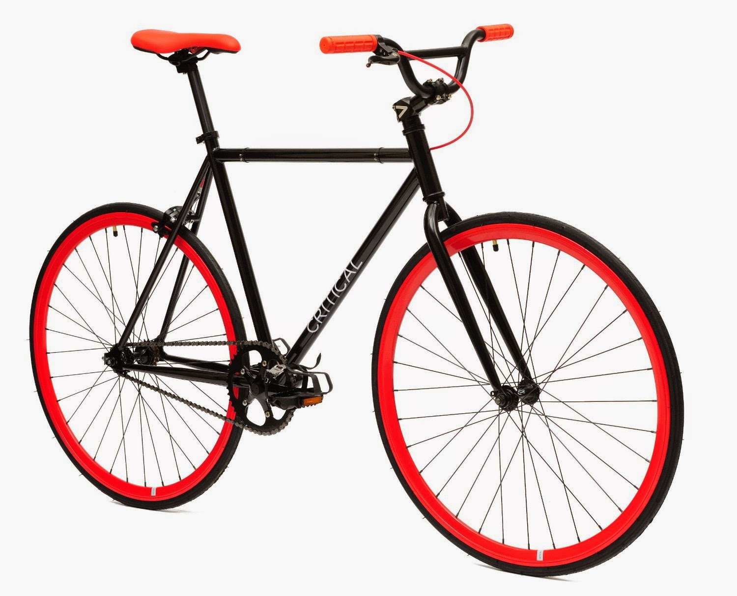 exercise bike zone critical cycles fixed gear single. Black Bedroom Furniture Sets. Home Design Ideas
