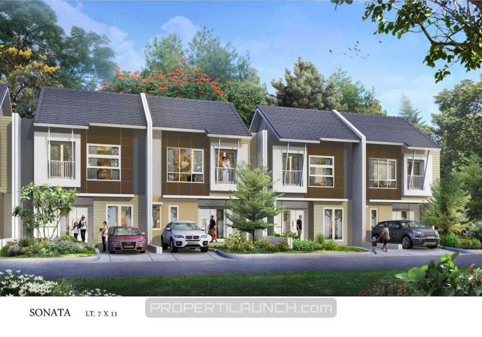 Sonata Type Cluster Avani Homes Summarecon Karawang