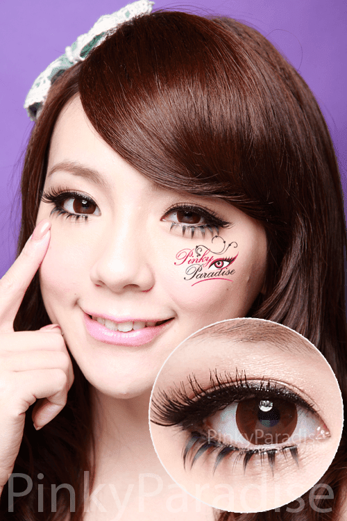 30Days Comfy Brown Circle Lenses (Colored Contacts)