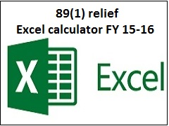 Income tax relief u/s 89(1) calculator-Arrears received in