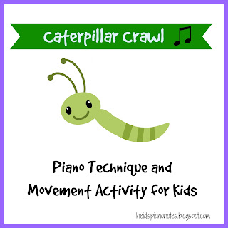 Teaching Piano Technique with Caterpillar Crawl Music Listening and Movement Activity