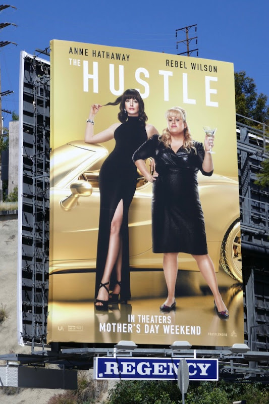 Hustle movie billboard
