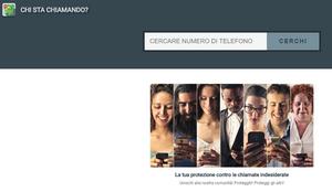 Chi sta Chiamando? Servizio online e applicazione per scoprire a chi appartiene un numero di telefono