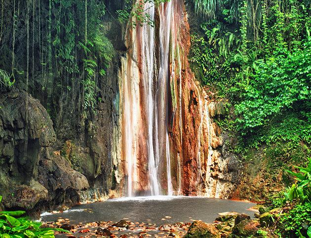 Diamond Botanical Gardens, Waterfall & Mineral Baths, Soufrière Estate