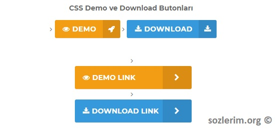 download button css, css download button, demo button css, css demo button, css demo ve download butonları