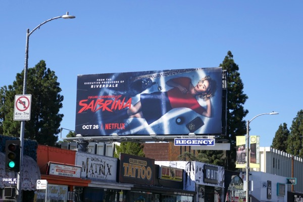 Sabrina season 1 billboard