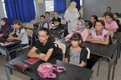 """التربية """"تزبر"""" 70 بالمائة من ميزانية المدارس بالجزائر"""