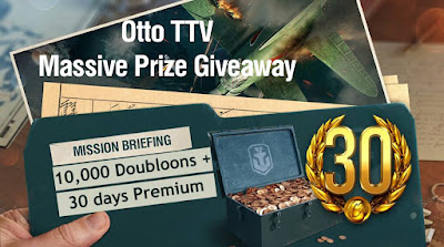 Massive Prize Giveaway - 10,000 Doubloons - 30 Days Premium - world of warships