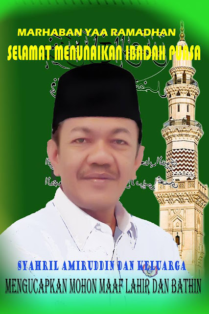 Tokoh Masyarakat Kota Pariaman H.Syahril Amiruddin : Mari Siapkan Diri Menghadapi Bulan Ramadhan.
